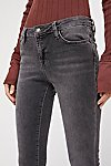 Thumbnail View 3: Straight Crop Jeans
