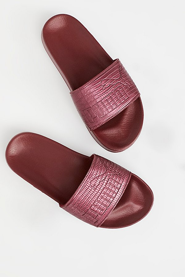 Slide View 1: Leadcat Leather Slide Sandal