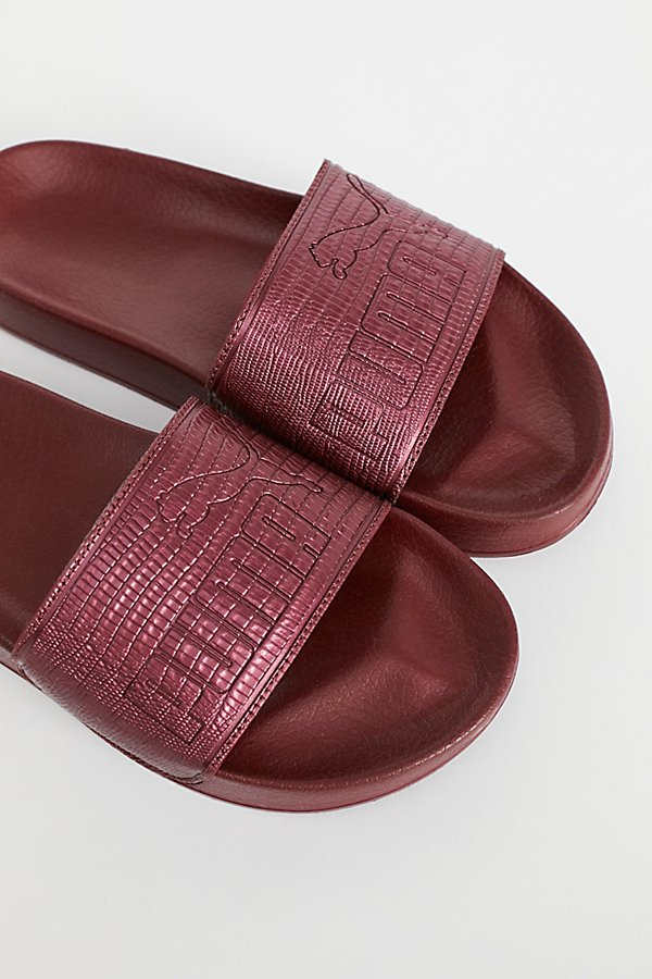 Slide View 3: Leadcat Leather Slide Sandal