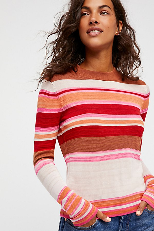 Slide View 2: Show Off Your Stripes Pullover