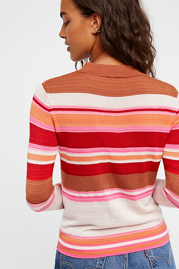 Slide View 3: Show Off Your Stripes Pullover