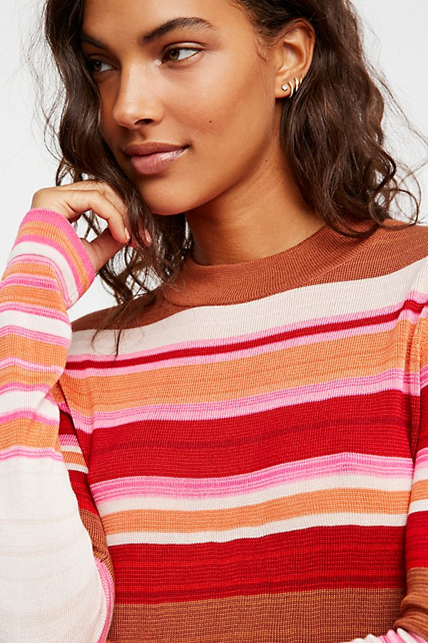 Slide View 4: Show Off Your Stripes Pullover