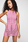 Thumbnail View 1: Alora Crochet Mini Dress