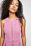 Thumbnail View 3: Alora Crochet Mini Dress