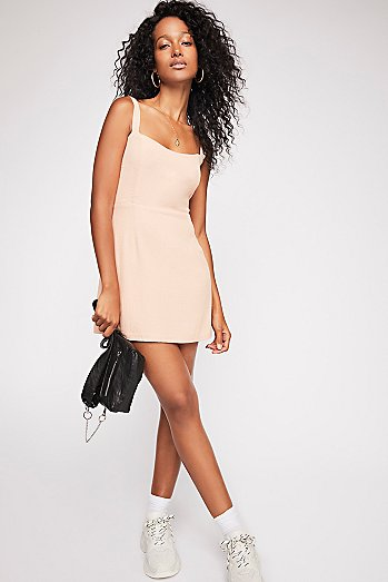 Short N' Sweet Solid Mini Dress