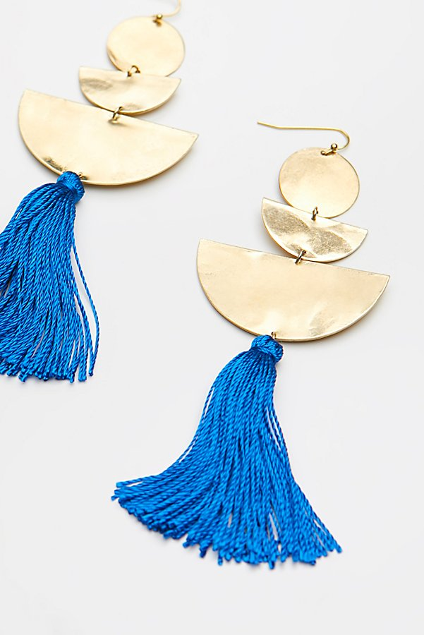 Slide View 3: Bryce Canyon Tassel Earrings