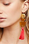 Thumbnail View 1: Bryce Canyon Tassel Earrings