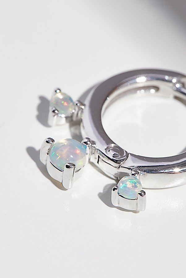 Slide View 2: 14k Dreamer Opal Mini Hoops