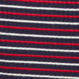 Nautical Stripe / Sea Blue