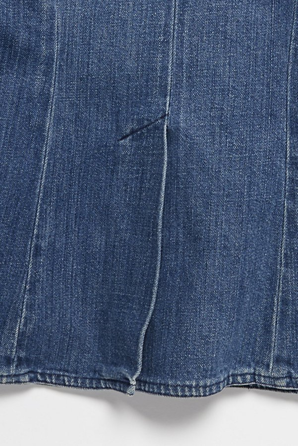 Slide View 6: Vintage 1970s Denim Blazer