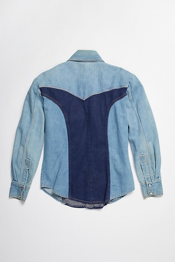 Slide View 4: Vintage 1970s Multitone Denim Set
