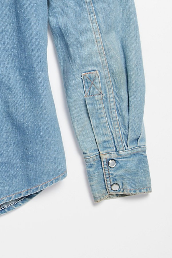 Slide View 5: Vintage 1970s Multitone Denim Set