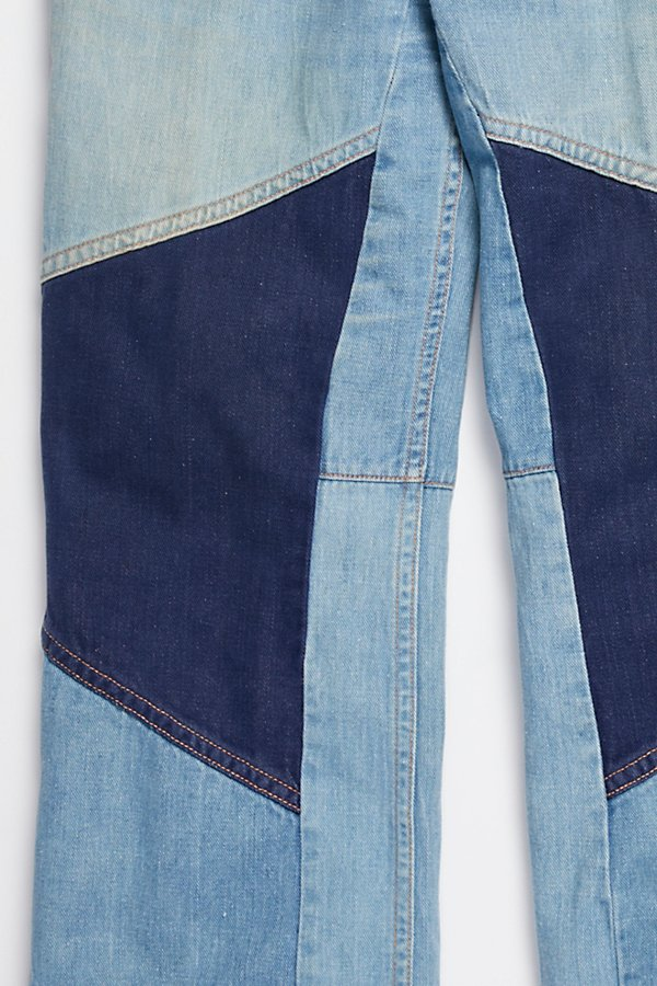 Slide View 7: Vintage 1970s Multitone Denim Set