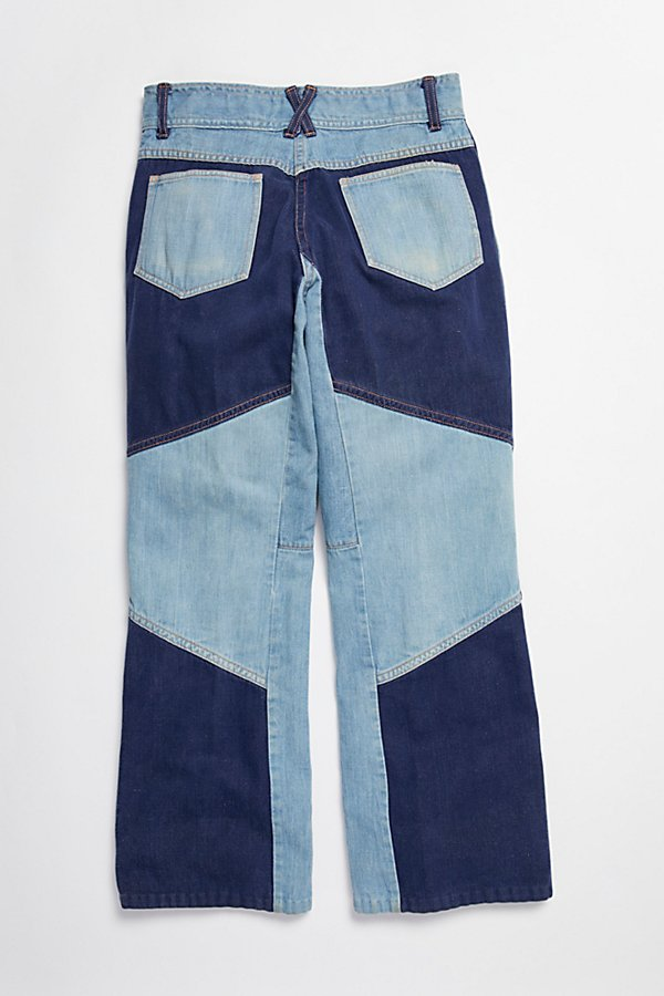 Slide View 8: Vintage 1970s Multitone Denim Set