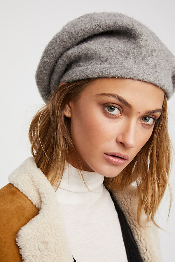 Bisous Slouchy Beret by Free People