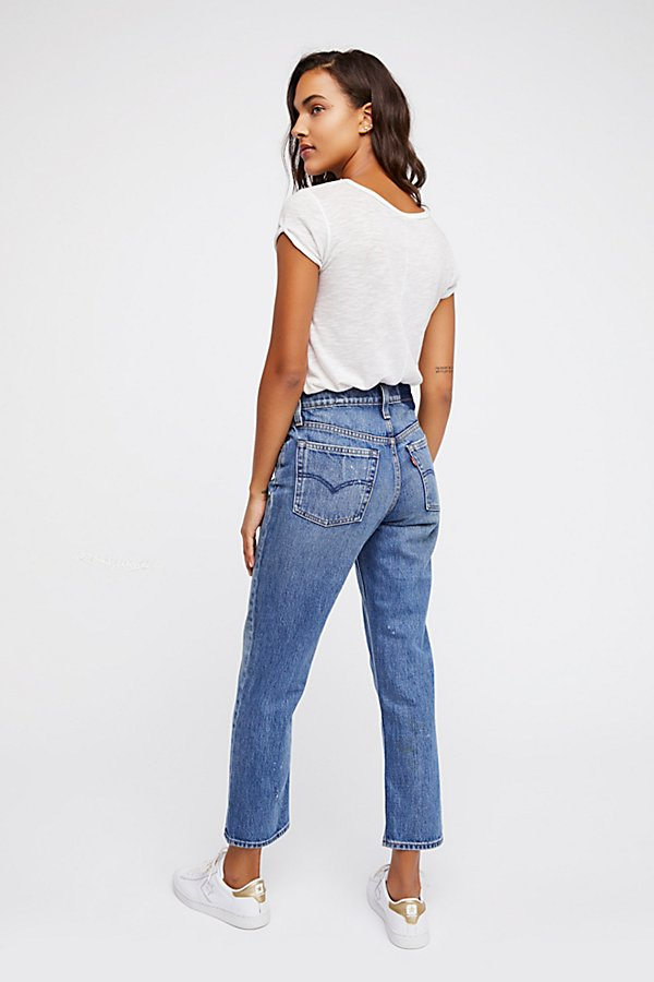 Slide View 3: Levi's Altered Straight Leg Jeans