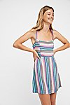 Thumbnail View 1: Short N' Sweet Striped Mini Dress