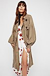 Thumbnail View 4: Balloon Sleeve Trench Coat