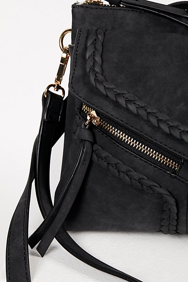 Slide View 4: Leanna Vegan Braided Crossbody