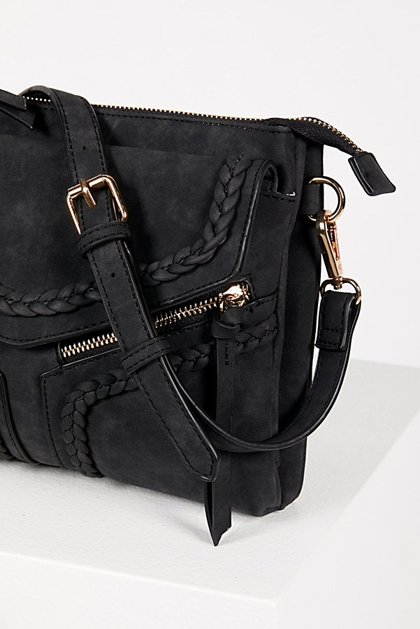 Slide View 5: Leanna Vegan Braided Crossbody