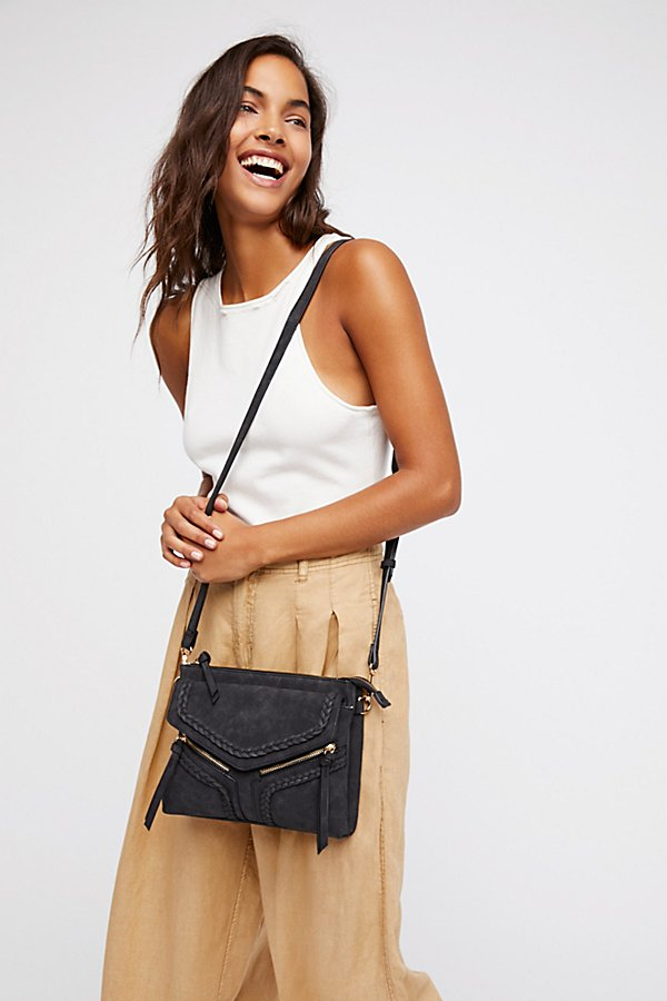 Slide View 1: Leanna Vegan Braided Crossbody