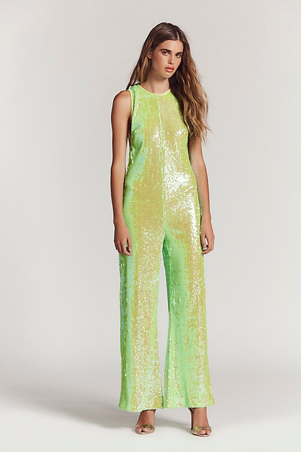 Slide View 2: Starbright Sequin Jumpsuit