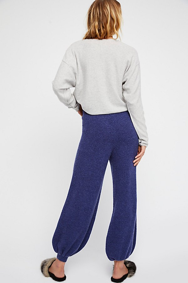 Slide View 2: As Long As They're On My Legs Cashmere Jogger