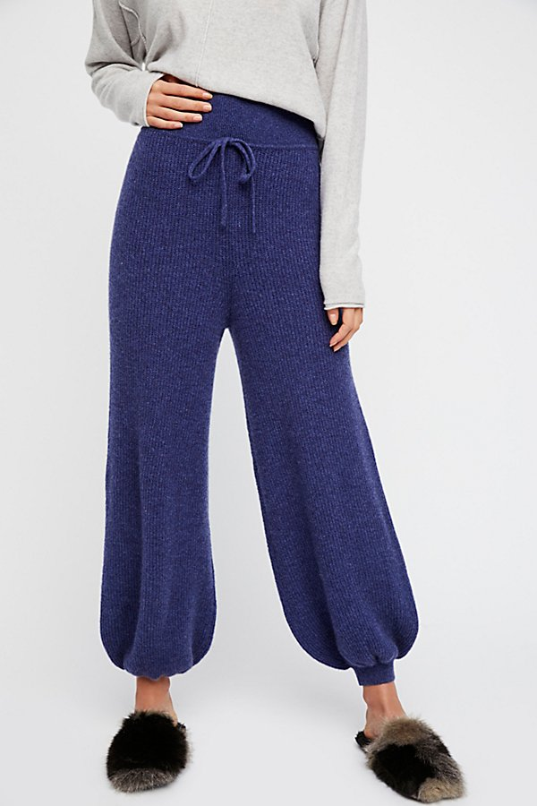 Slide View 3: As Long As They're On My Legs Cashmere Jogger