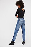 Thumbnail View 2: Luxe Embellished Boyfriend Jeans