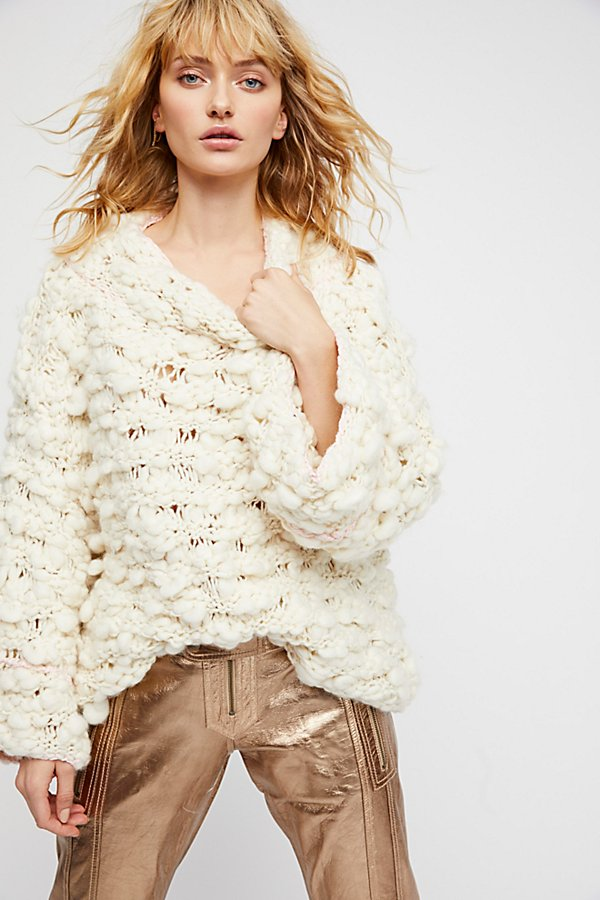 Slide View 2: Cloudy Day Popover Sweater
