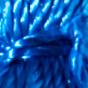 Indigo Blue / Silver Leather