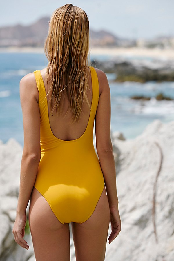 Slide View 2: Sunchaser Lace-Up One-Piece Swimsuit