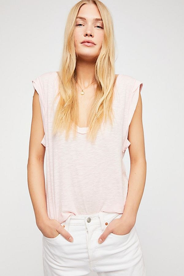 Cute PInk Top | Free People