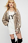 Thumbnail View 4: Slouchy Sequin Jacket