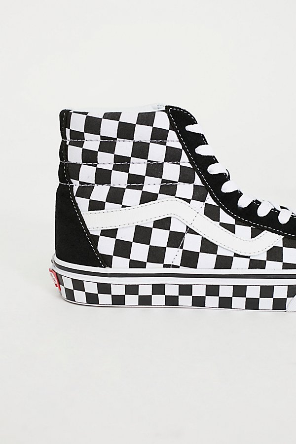 Slide View 3: SK8-Hi Reissue Checker Hi Top