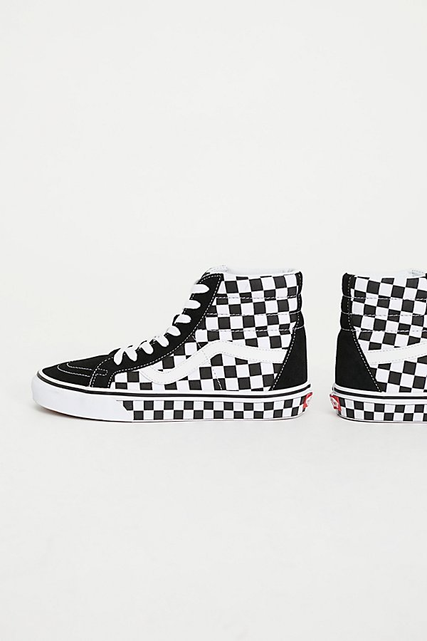Slide View 4: SK8-Hi Reissue Checker Hi Top