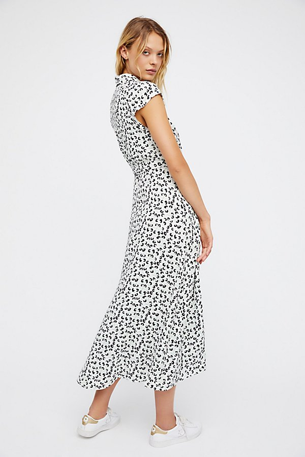 Slide View 3: So Fetch Midi Dress