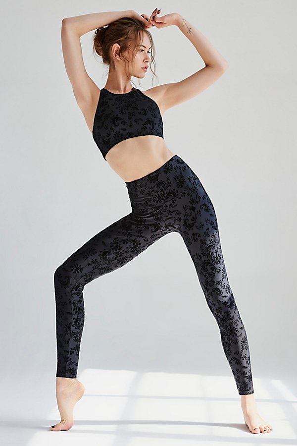 Slide View 1: Flocked Legging