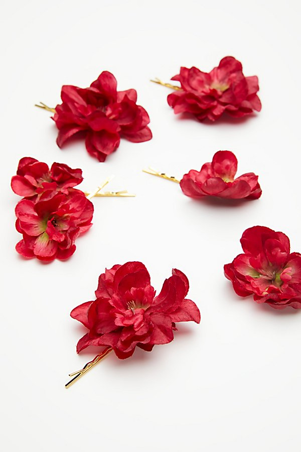 Slide View 2: Franny Flower Hair Pins