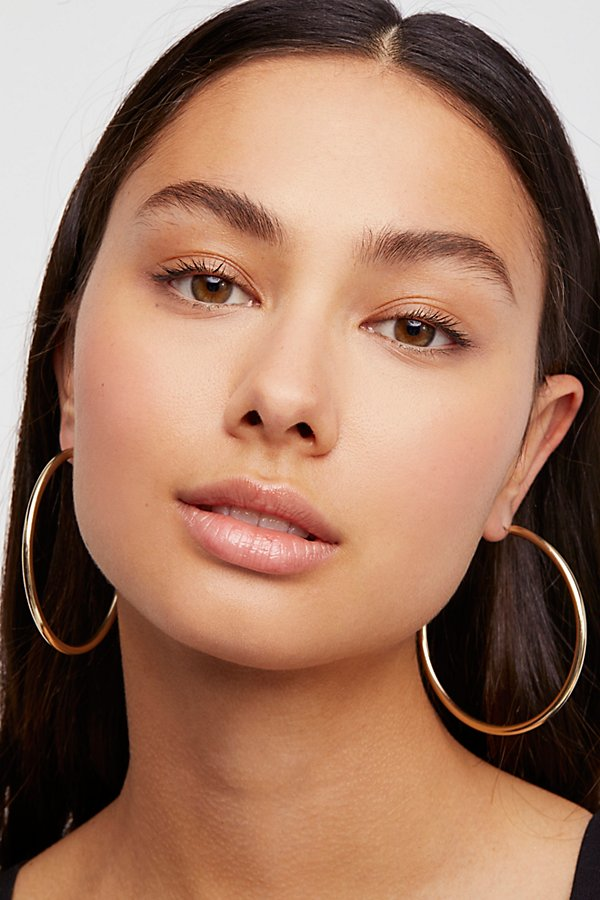 Slide View 1: Essential Tube Hoop Earrings
