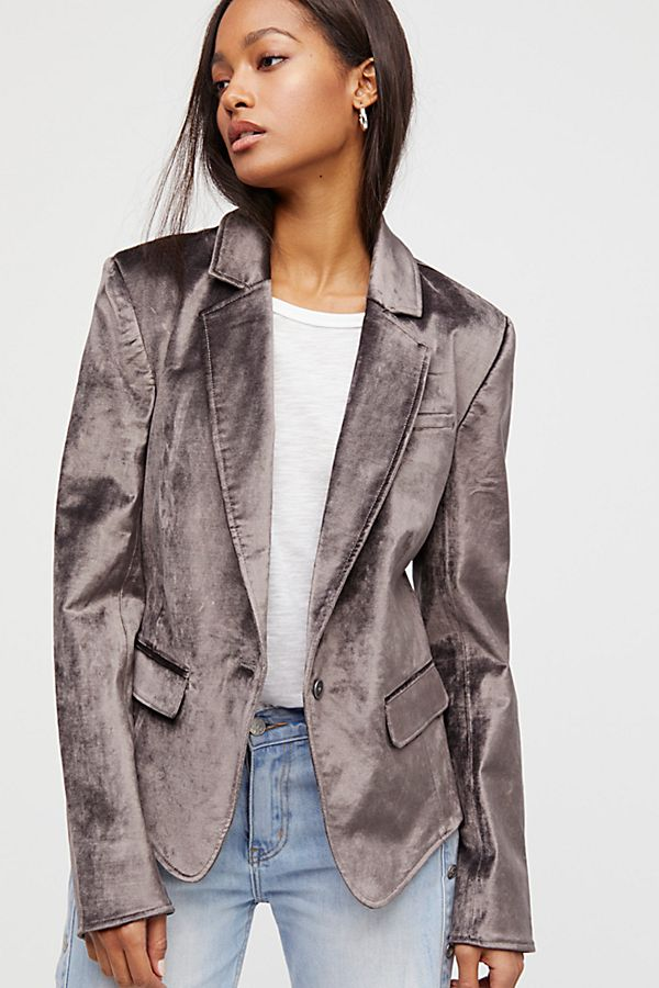 Love this grey blazer | Free People