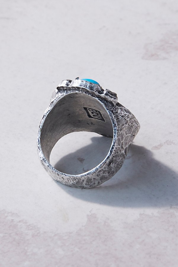Slide View 3: Labradorite Medallion Ring