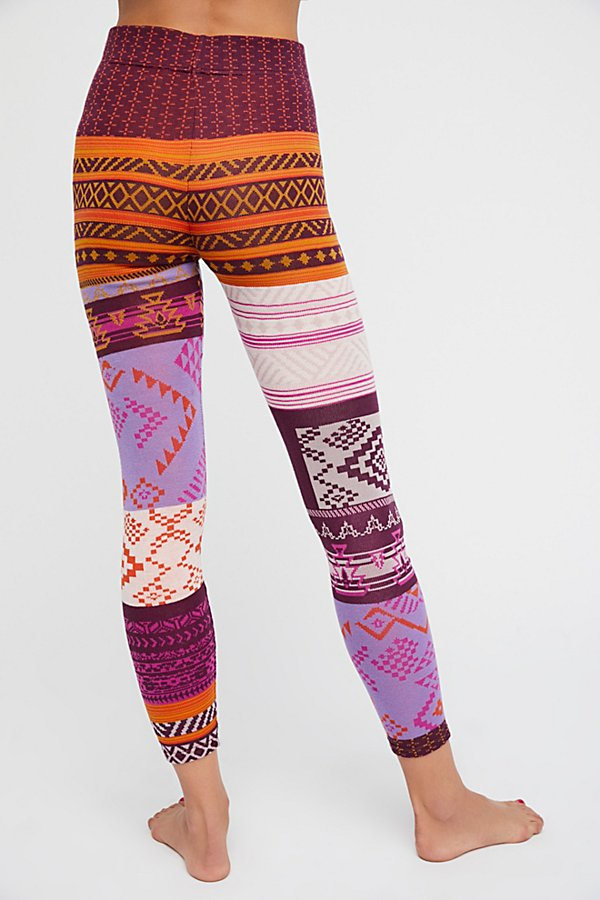 Slide View 2: Geo Patchwork Legging