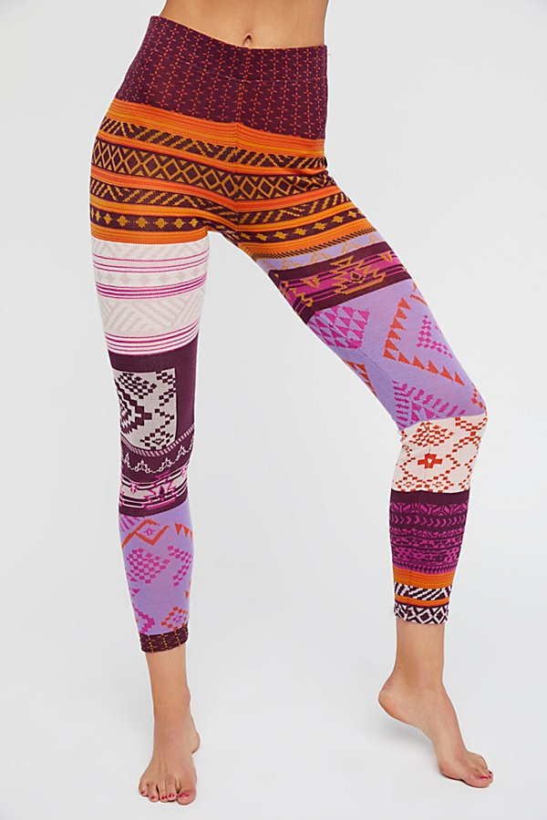 Slide View 3: Geo Patchwork Legging