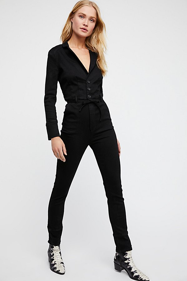 Slide View 1: Take Me Out Fitted Jumpsuit