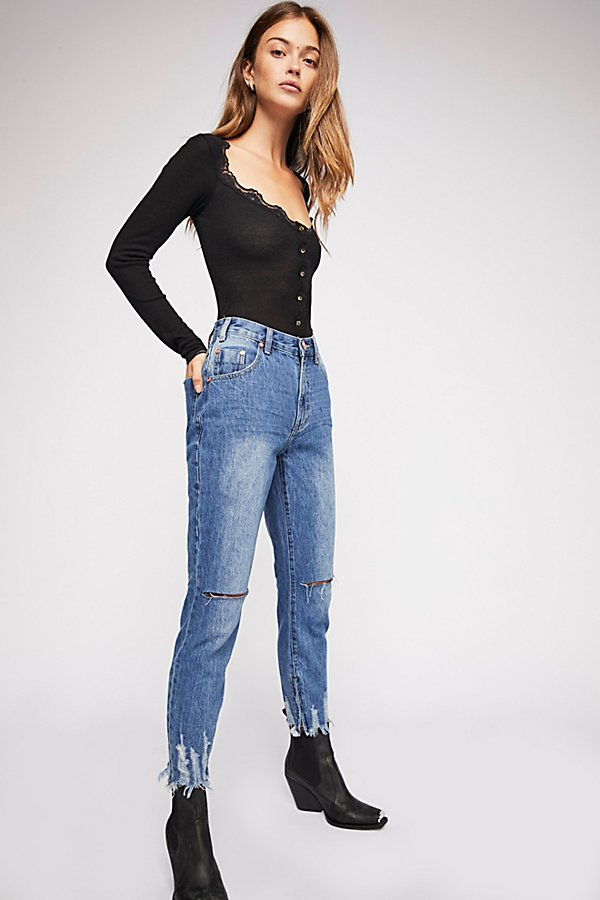 Slide View 1: OneTeaspoon High Waist Freebird Skinny Jeans