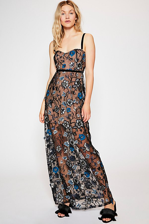 Slide View 2: Beatrice Strappy Maxi Dress