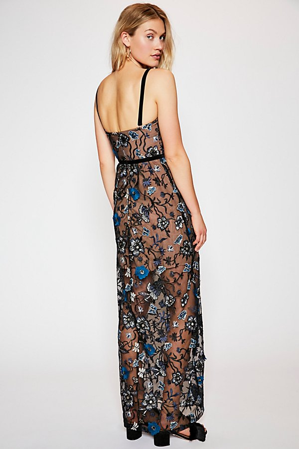 Slide View 3: Beatrice Strappy Maxi Dress
