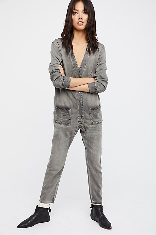 Slide View 1: Wildstone Denim Jumpsuit