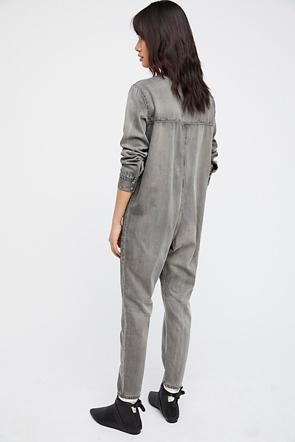 Slide View 2: Wildstone Denim Jumpsuit